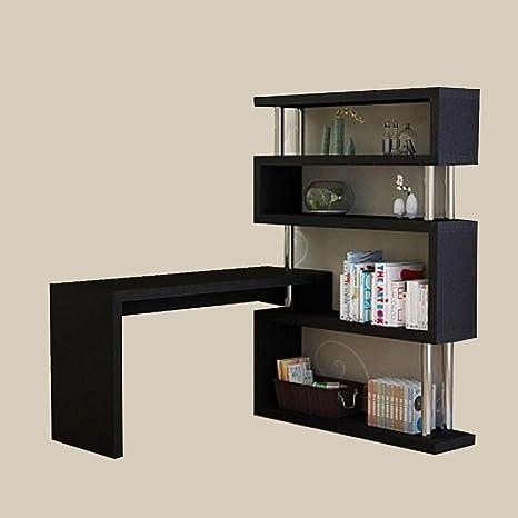 Scrivania Angolare Con Libreria Classica.Selcng Home Living Scrivania Camera Da Letto Rotante Scrivania