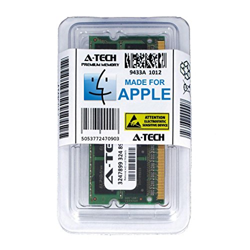 A-Tech For Apple 4GB Module PC3-10600 Mac mini iMac MacBook Pro Mid 2010 Late 2011 A1286 MD311LL/A A1297 MC511LL/A A1312 MC309LL/A A1311 MC812LL/A MC813LL/A MC814LL/A MC815LL/A A1347 Memory RAM