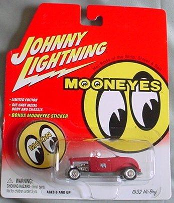 Johnny Lightning Mooneyes 1932 Hi-Boy Hi-Boy Hi-Boy ROT 4355cf