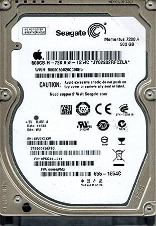 Seagate ST9500420ASG P N 9PSG44 041 F W 0008APM2 WU 500GB