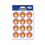 Beistle Party Decoration Accessory Stickers Spain 4'' X 6'' 2 Count Pack Of 12