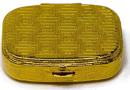 Portable Pocket Ashtray (Gold Diamond) ()