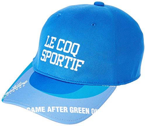 [le coq sportif/GOLF COLLECTION]레코드 프린트 캡 QGBNJC09 맨즈 BL00(블루) 일본 F (FREE 사이즈)