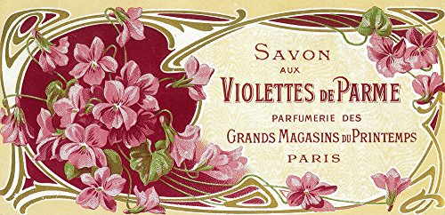 Violettes De Parme Perfume Label (16x24 SIGNED Print Master Giclee Print w/ Certificate of Authenticity - Wall Decor Travel Poster) 2310 Label