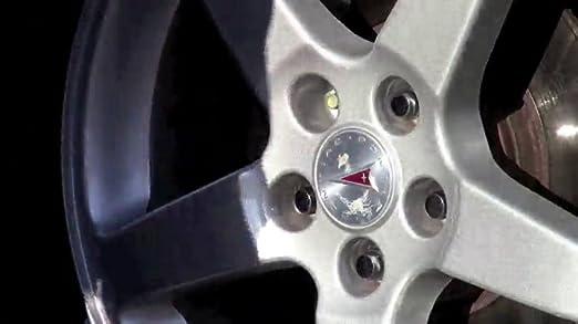 M12 x 1.5 Thread Size for 4 Lug Wheels McGard 65457RC Chrome with Red Cap SplineDrive Wheel Installation Kit