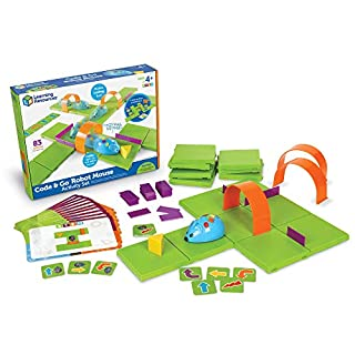 Learning Resources Code & Go Robot Mouse Activity Set, 83 Pieces, Ages 4+