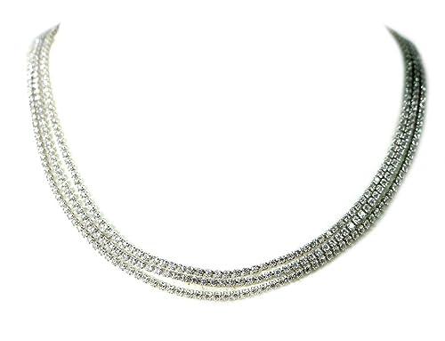nuovo stile 098eb b78a6 MEG GIOIELLI Collana tennis argento puro 925 e zirconi ...