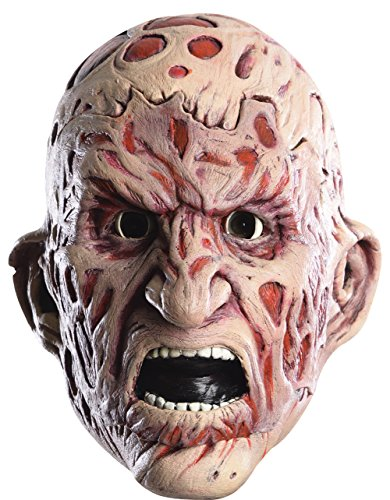 Rubie's Costume Men's Nightmare On Elm Street Adult Freddy Double Tear-Away Mask, Multi, One Size