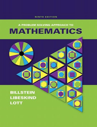 Problem Solving Approach to Mathematics, 9th Edition