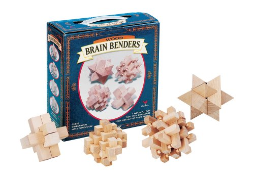 Amazon Brain Benders Wooden Puzzles Toys Games