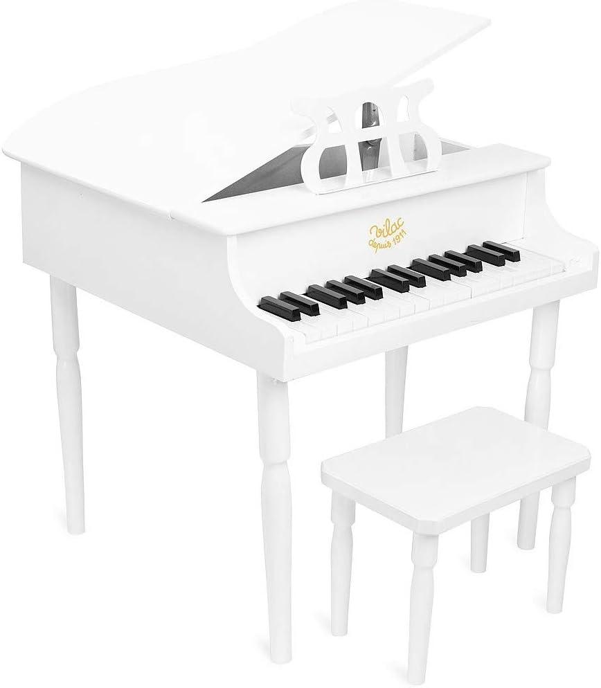 Piano Vilac laqué noir | Petit piano, Piano, Jouet