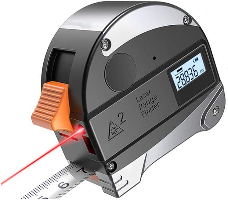Cinta métrica láser, Medida láser digital recargable por USB Medida de medición láser (para volumen de área de longitud),300cm