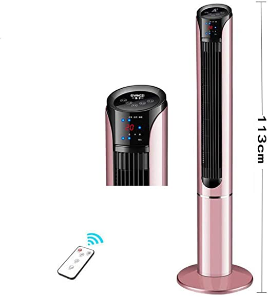 YQ WHJB Oscilante Ventilador De La Torre,oscilante Stand Up Super Silencioso Ventilador Sin Aspas con Control Remoto Compacto Ventilador De Enfriamiento-a: Amazon.es: Hogar