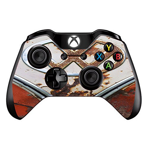 Skin Vinyl Decal for Xbox One / One S Controller / with Grip-Guard Technology stickers skins cover / VW Bus Rust, Split Window van
