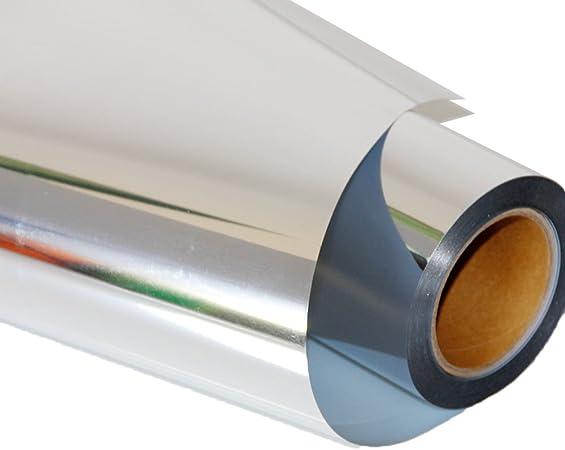 HOHO - Película de vinilo para cortador de plotter (50 x 30 cm), color plateado metálico: Amazon.es: Hogar