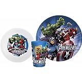Marvel Avengers 5 Piece Mealtime Set!