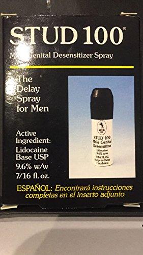 Stud 100 Premature Delay Prolonging Genital 1 Spray