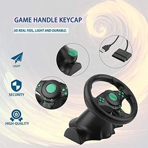 Computerspiele schwarz & grn 180-Grad-Drehung Gaming Vibration ...