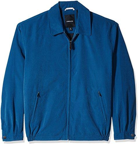 London Fog Men's Auburn Zip-Front Golf Jacket (Regular & Big-Tall Sizes), pacific blue, 2X Big