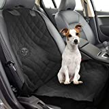 Dog Front Seat Car Cover by SunGrow - 40x20in Waterproof, Non Slip Back - Vehicle Seat Protection from falling Dog Hair, Soiling, Mud, Sand, Sweat & Kids' Mess - 1-Minute Installation