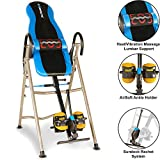 EXERPEUTIC 275SL Heat and Massage Therapy Inversion Table with NO...