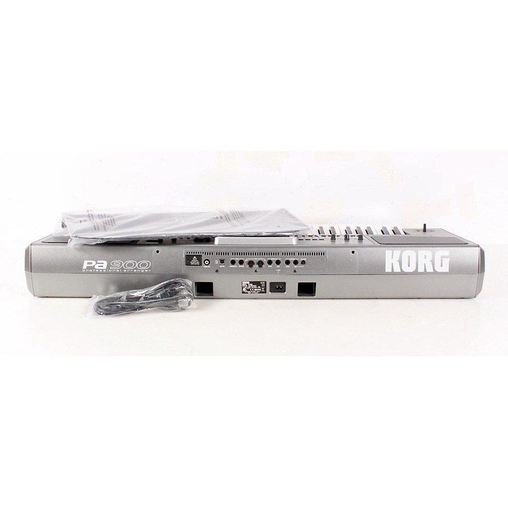 Amazon.com: Korg PA900 61-Key Pro Arranger Keyboard Level 2 ...