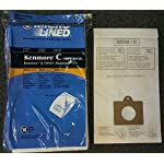 20 Kenmore Style C & Style Q 5055 50557 50558 Micro Lined Canister Vacuum Bags. Also Fits Panasonic C-5, C-18 by DVC 4 Fits Kenmore Canisters made in the Last 20 Years Including Whispertone, Intuition, Elite and Progressive; Also will fit Panasonic C-5 replace Kenmore part numbers; 5055, 50557, 50558, 20-50104, 50104, 54321, 20-54321, 53292, 631396, 20-53291, 53291, 20-53290, 53290, KM48751-12. Also fits the HEPA Cloth Kenmore Style Q bags. IDEAL FOR ASTHMA & ALLERGY SUFFERERS, HOMES WITH BREATHING ISSUES. Designed to fit Kenmore Canister models 23040, 23243, 23350, 24320, 24321, 24325, 24326, 24327, 24350, 24390, 24410, 24971, 24975, 24981, 24991, 25430, 2621, 26312, 26320, 26325, 26355, 26390, 26395, 26410, 26413, 26430, 26435, 26450, 26455, 27514, 27515, 27614, 27615, 27814, 27815, 27914, 27915, 28014 and 28015 Canister models.