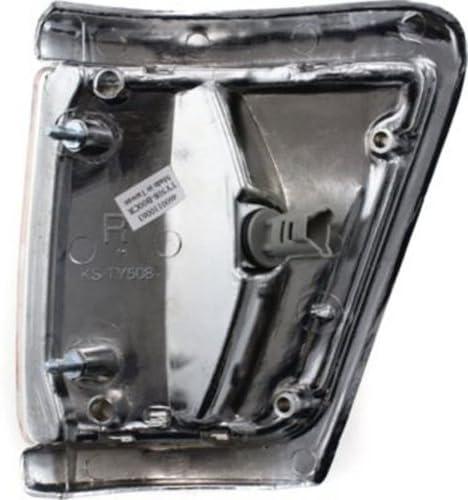 CPP Passenger Side DOT//SAE Corner Light for 92-95 Toyota Pickup 4WD TO2521131
