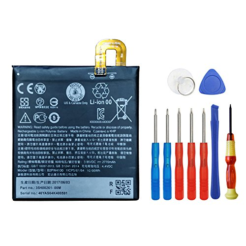 Wee 2770mAh 3.85V B2PW4100 Li-ion Battery For HTC Google Pixel 5