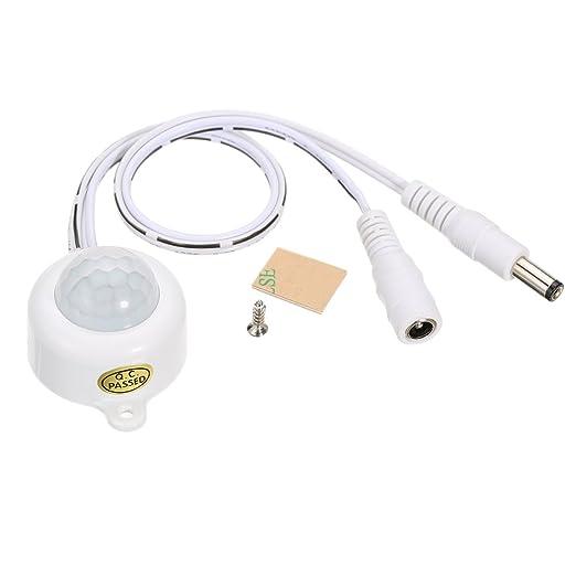 1 opinioni per Lixada Motion Sensor Luce DC5 ~ 24V Mini Sensore di Movimento a Infrarossi