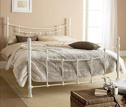 Hyder Toscana 5 \'King Size Color blanco marco de la cama y el ...