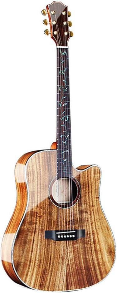 NUYI 41 Pulgadas Guitarra Acústica Profesional Que Toca La ...