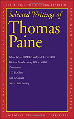 Selected Writings Of Thomas Paine Rethinking The Western