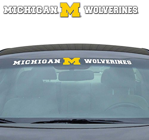 NCAA Michigan Wolverines Windshield - Michigan City Malls Outlet