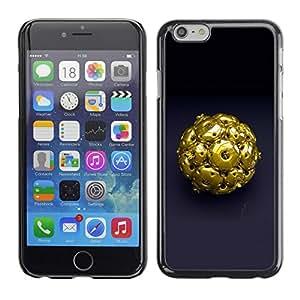 TECHCASE**Cubierta de la caja de protección la piel dura para el ** Apple iPhone 6 Plus 5.5 ** Abstract Gold