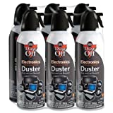 Wholesale CASE of 5 - Falcon Safety Dust-Off XL-Dust-Off XL Compressed Gas Duster, 10 oz., 6/PK