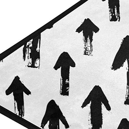 玄関マット 台所マット 背景 や 矢柄 ブラック 白い 葉書 キッチンマット ふわふわ 浴室マット お風呂マット 高密度 足ふき 吸水 洗面所 マット 速乾 おしゃれ 赤ちゃん 人気 バスマット50 100