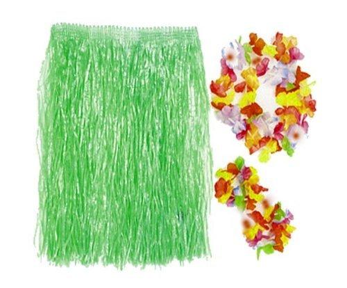 (Child Hula Kit - 4 Pc Set Includes Hula Skirt, Flower Lei and 2 Lei Bracelets by SmallToys)