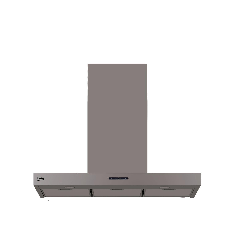 Beko HCB91731BX De pared Acero inoxidable 730m³/h D - Campana (730 m³/h, Canalizado/Recirculación, D, E, B, 64 dB)