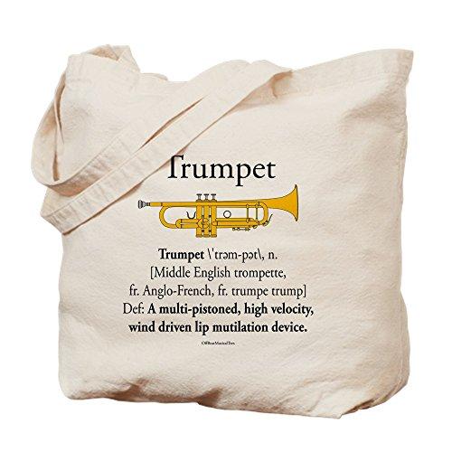 CafePress–Trompeta MD–Gamuza de bolsa de lona bolsa, bolsa de la compra