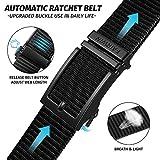 FAIRWIN Ratchet Belts for Men, Golf Web Belt for