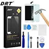 iPhone 6 Screen Replacement White LCD Display Touch Screen Digitizer Frame Assembly Full Set with Free Tools and DRT Professional Glass Screen Protector for iPhone 6 (4.7 inches) (White)