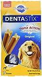 PEDIGREE DENTASTIX Original Large Treats for Dogs - 6.07 Ounces 7 Treats (Pack of 7)