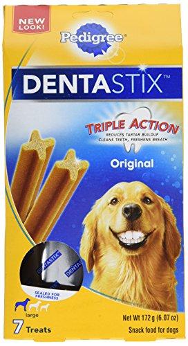 PEDIGREE DENTASTIX Original Large Treats for Dogs – 6.07 Ounces 7 Treats (Pack of 7)