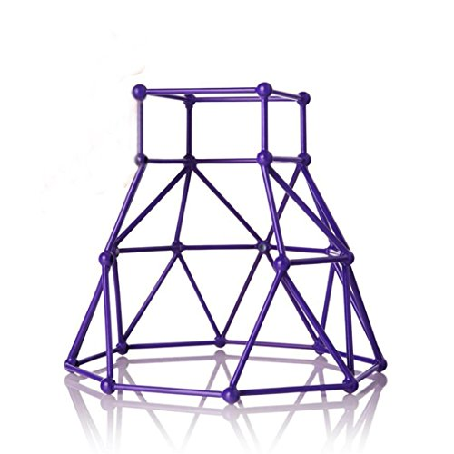 Toy Stent For Baby Monkey - Woshishei Jungle Gym Playset Interactive Baby Monkey Climbing Stand (Purple)
