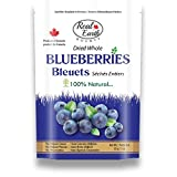Real Earth BOUNTY Fruits All Natural Dried Whole Blueberries, 85g