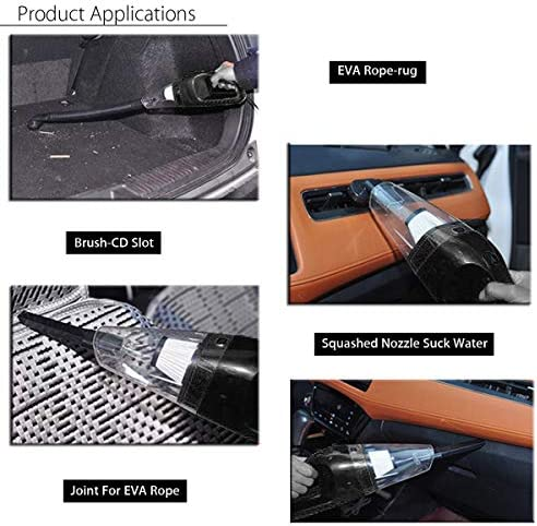 Car Vacuum Cleaner 150w 12v Portable Handheld Auto Vacuum Cleaner Wet Dry Dual Use Duster