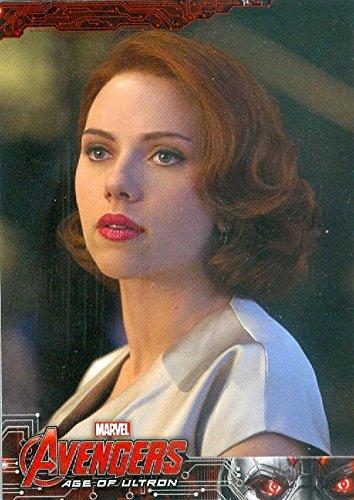 Scarlett Johansson Trading Card Black Widow Avengers Age Of