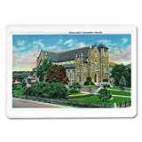 Lowell, Massachusetts - Exterior View of the Immaculate Conception Church (Playing Card Deck - 52 Card Poker Size with Jokers)
