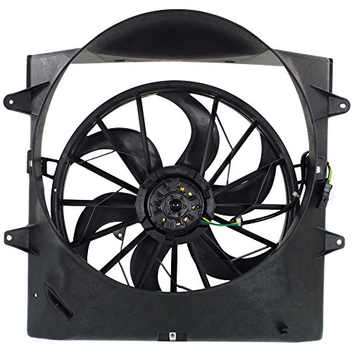 Radiator Fan Assembly for GRAND CHEROKEE 99-03 Includes Shroud
